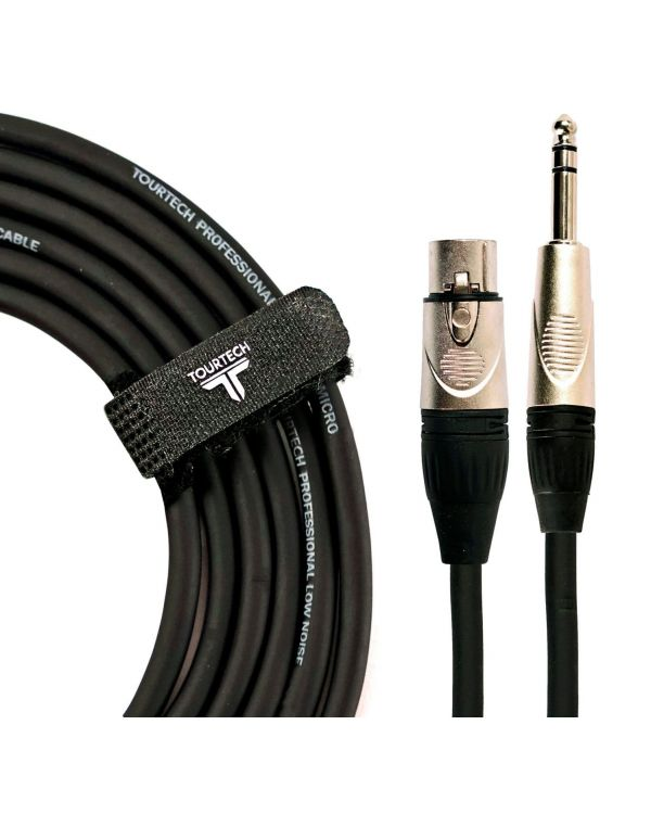 TOURTECH XLRf to Jack Microphone Cable, 3m
