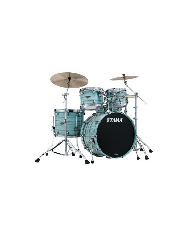 Tama Starclassic Walnut/Birch 4pc Shell Pack in Lacquer Arctic Blue Oyster