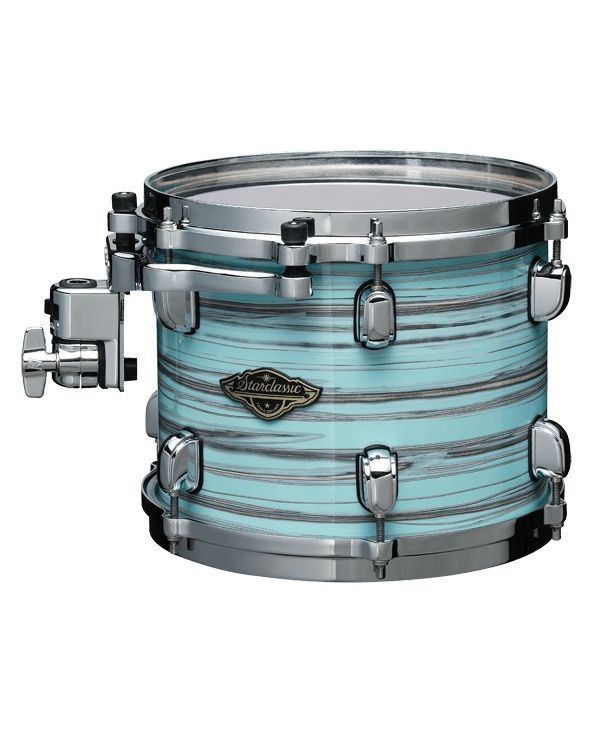 "Tama Starclassic Walnut/Birch 8"" x 6"" Tom in Lacquer Arctic Blue Oyster"