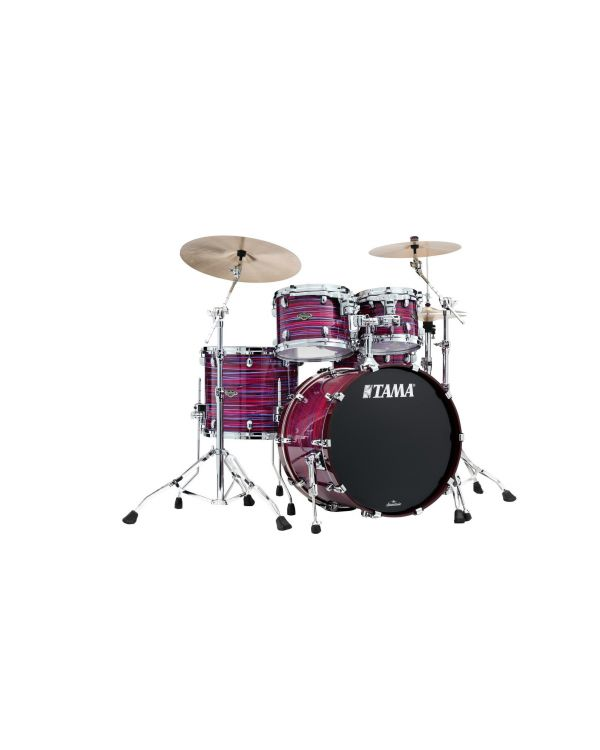Tama Starclassic Walnut/Birch 4pc Shell Pack in Lacquer Phantasm Oyster
