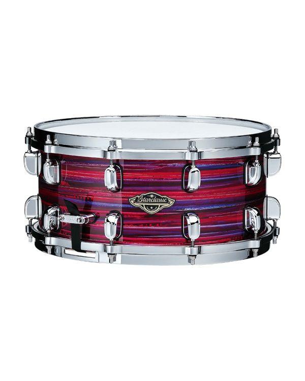 "Tama Starclassic Walnut/Birch 14"" x 6.5"" Snare Drum in Lacquer Phantasm Oyster"