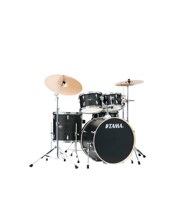 Tama Imperialstar 5pc Black Oak Wrap Shell Pack with Hardware