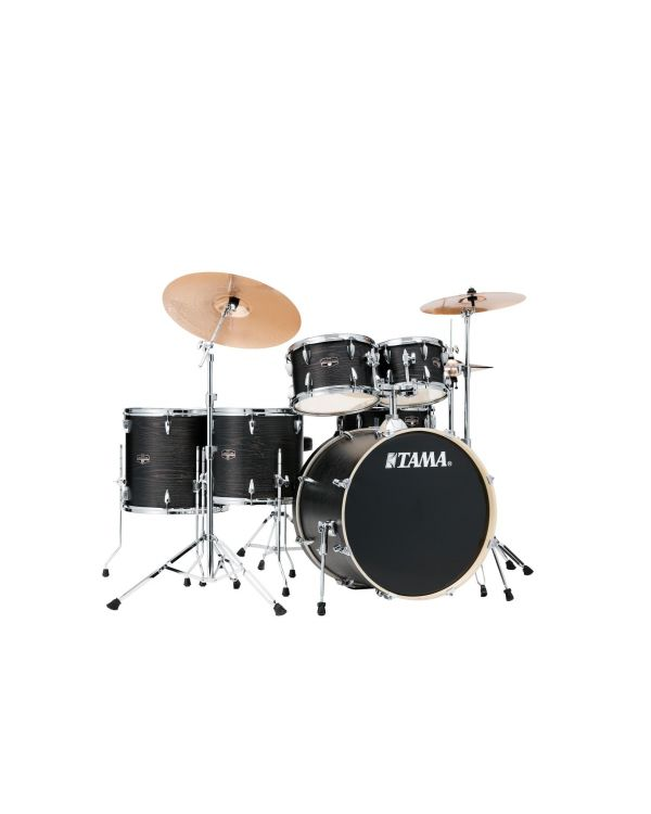 Tama Imperialstar 6pc Black Oak Wrap Shell Pack with Hardware