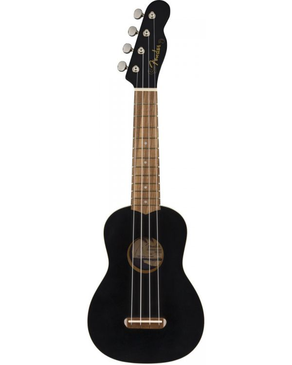 Fender California Coast Venice Soprano Ukulele WN Black