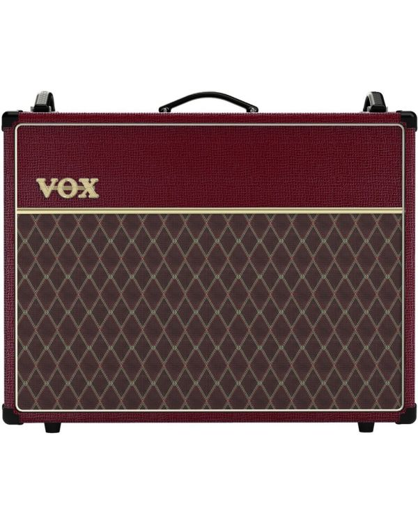 Vox AC30C2 Limited Edition Maroon Bronco Combo Valve Amp