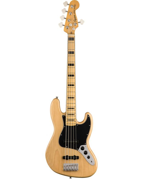 Squier Classic Vibe 70s Jazz Bass V Maple FB Natural