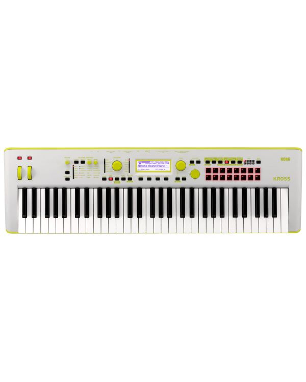Korg Kross 2 Special Edition Neon Green Synthesizer Workstation
