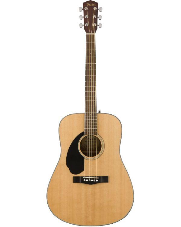 Fender CD-60S Dreadnought Acoustic Guitar LH WN Natural