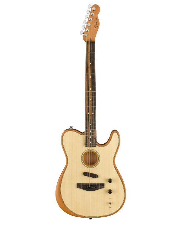 Fender American Acoustasonic Telecaster Hybrid Guitar, Natural