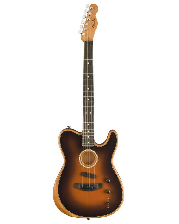 Fender American Acoustasonic Telecaster Hybrid Guitar, Sunburst