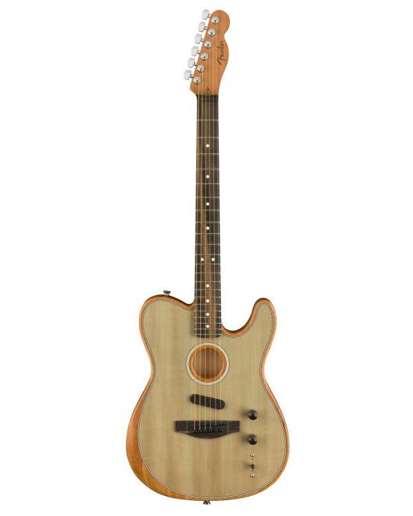 Fender American Acoustasonic Telecaster Hybrid Guitar, Sonic Gray