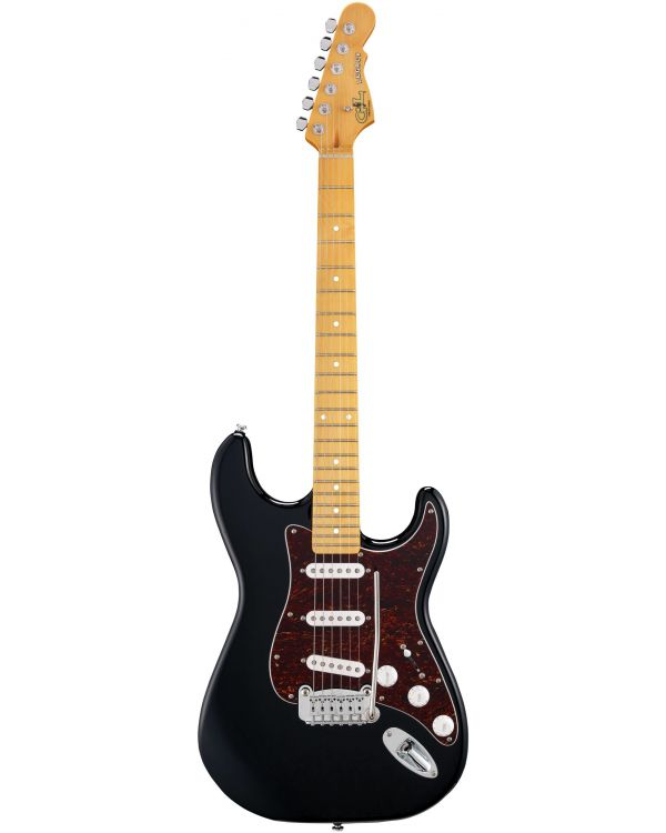G&L Tribute Legacy Gloss Black Maple Fretboard