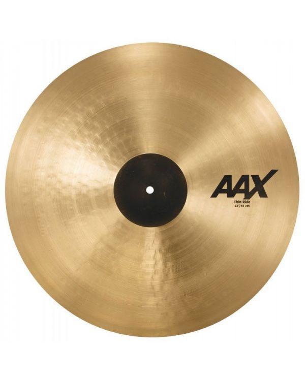 "Sabian AAX 22"" Thin Ride Cymbal"
