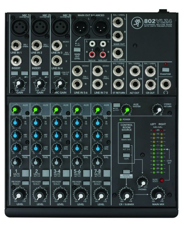 Mackie 802VLZ4 Compact Mixing Desk