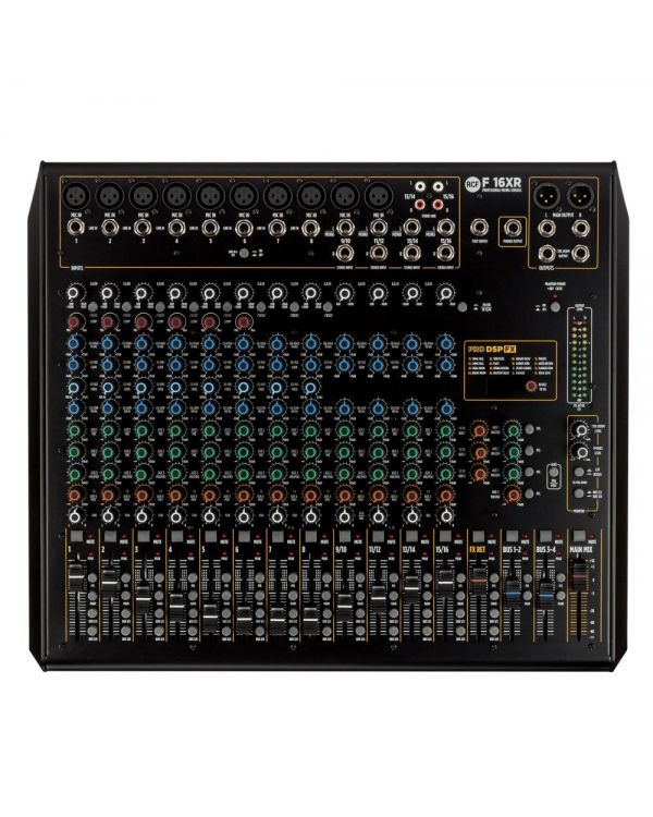 RCF F16XR 16-Channel Studio Mixing Console