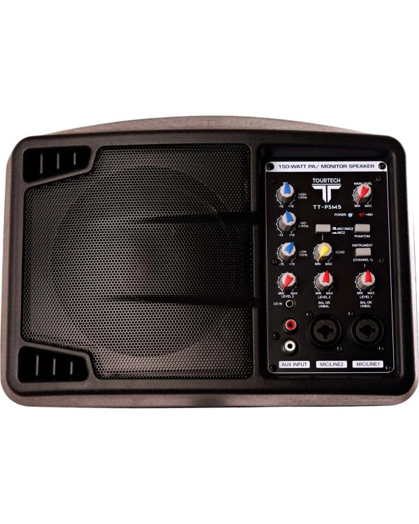 TOURTECH PSM5 Portable Active PA Monitor Speaker
