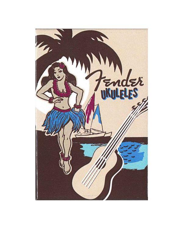 Fender Hula Girl Magnet