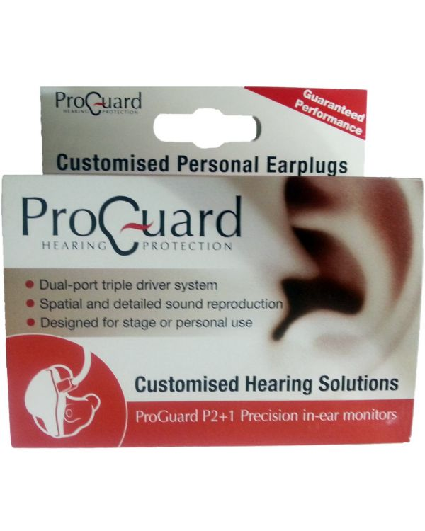 ProGuard Custom P2+1 Precision In-Ear Monitors