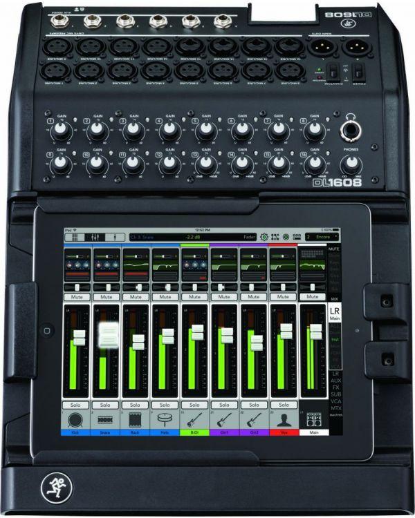 Mackie DL1608 16-Channel Digital Live Sound Mixer Lightning
