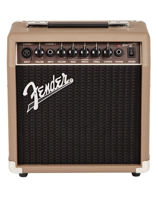 Fender Acoustasonic 15 Acoustic Guitar Amplifier Combo