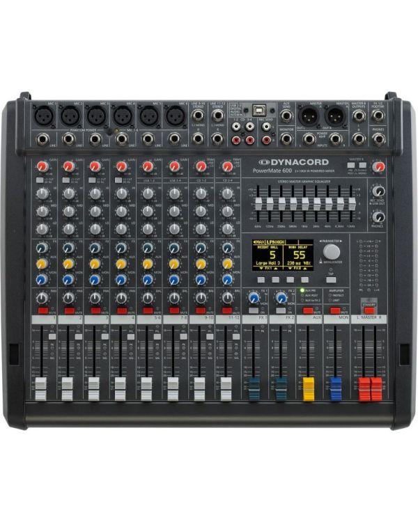 Dynacord Powermate 600 MkIII Powered Mixing Desk