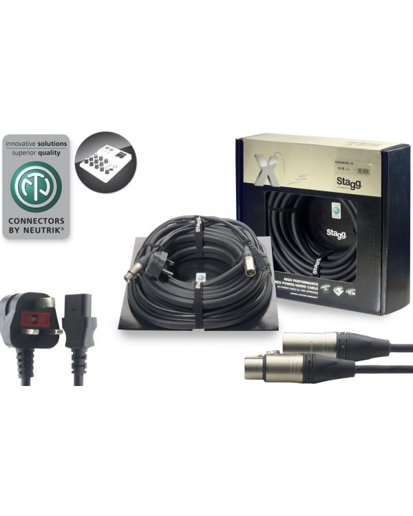 Code Professional Audio Combined Power and Audio Cable