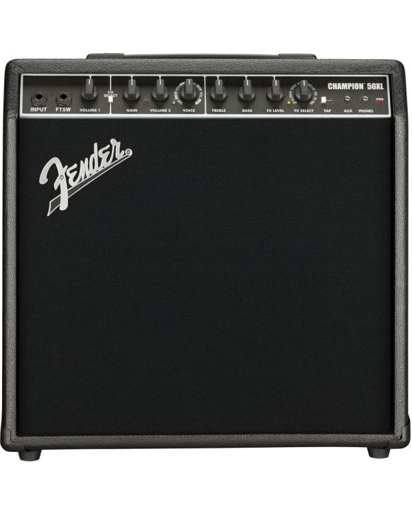 Fender Champion 50XL Digital Combo Amplifier Black