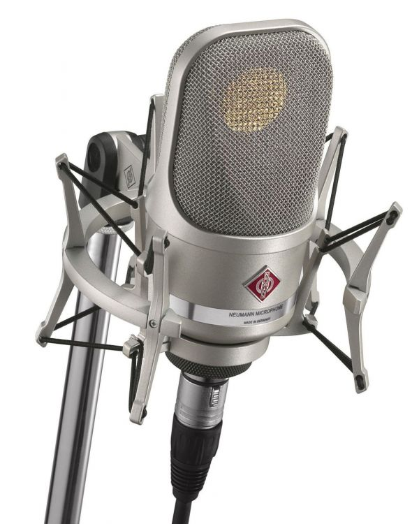 Neumann TLM107 Microphone - Nickel (with Shockmount)