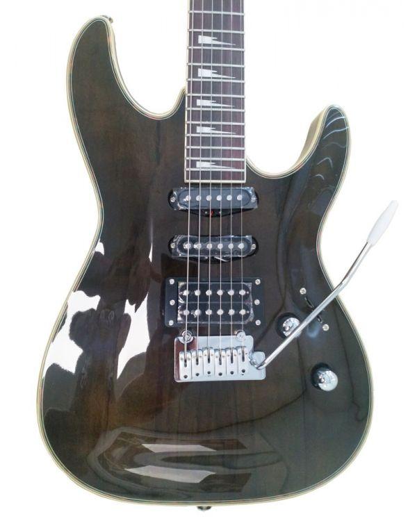 Eastcoast GVQ230 Electric Guitar, Black Quilt
