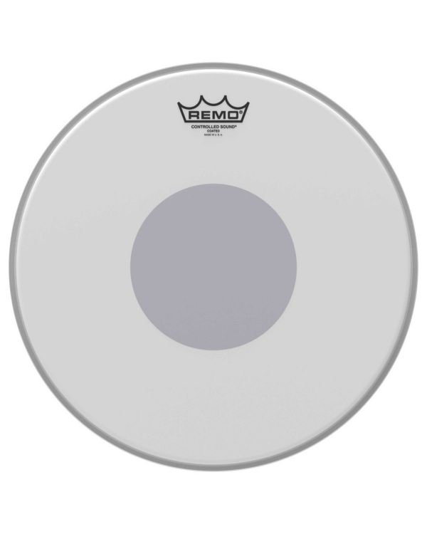 Remo CS-0114-10 14 CS Coated Black Dot Drum Head