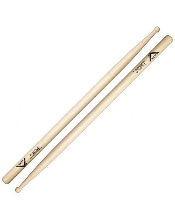 Vater Sugar Maple Piccolo Wood Tipped Drumsticks
