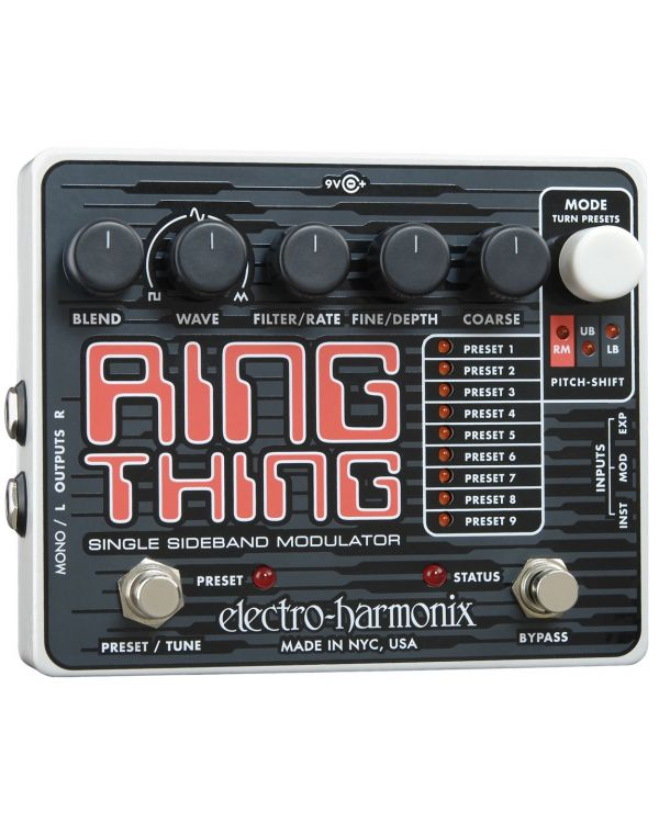 Electro Harmonix Ring Thing Modulation Guitar Effects Pedal