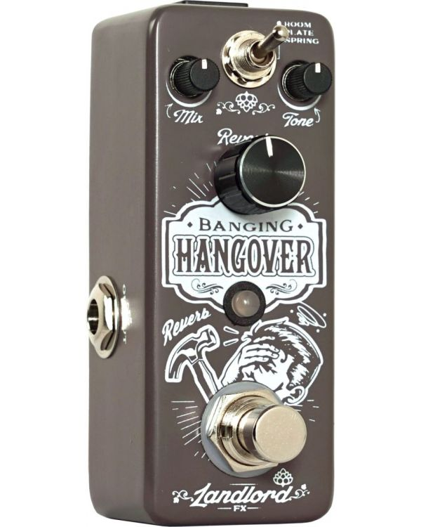Landlord FX Banging Hangover Reverb Pedal