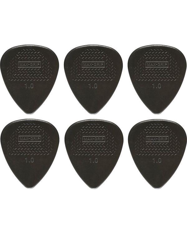 Dunlop 449P10 Nylon Max Grip Guitar Pick Player Pack 1.00mm