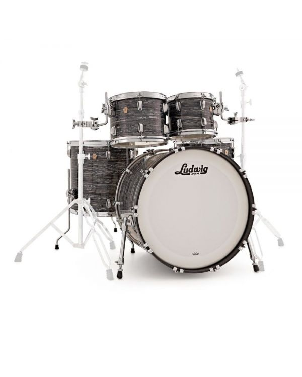 Ludwig Classic Maple MOD Shell Pack in Vintage Black Oyster