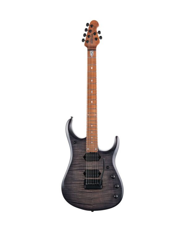 Music Man JP15 Trans Black Flame Electric Guitar