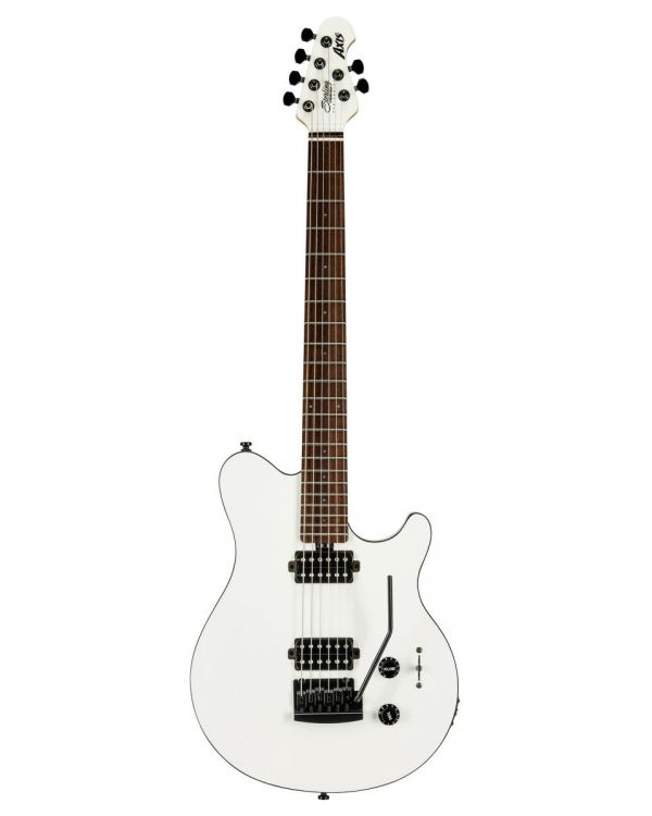 Sterling by Music Man S.U.B Axis White Electric Guitar