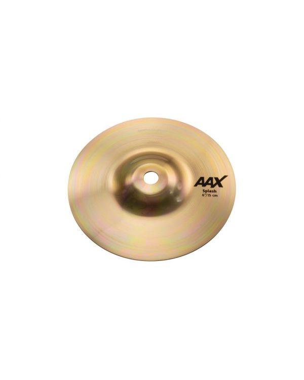 """Sabian AAX 6"""" Splash Cymbal Brilliant"""