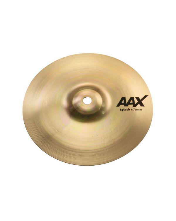 """Sabian AAX 8"""" Splash Cymbal Brilliant"""