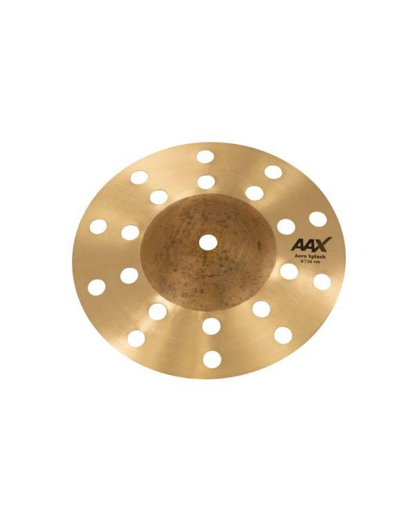 """Sabian AAX 8"""" Aero Splash Cymbal Natural"""