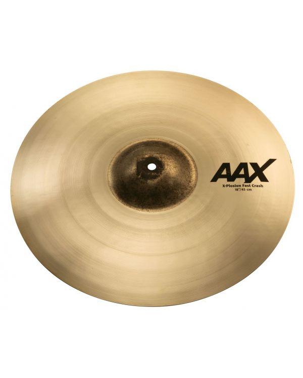 """Sabian AAX 18"""" X-Plosion Fast Crash Cymbal"""