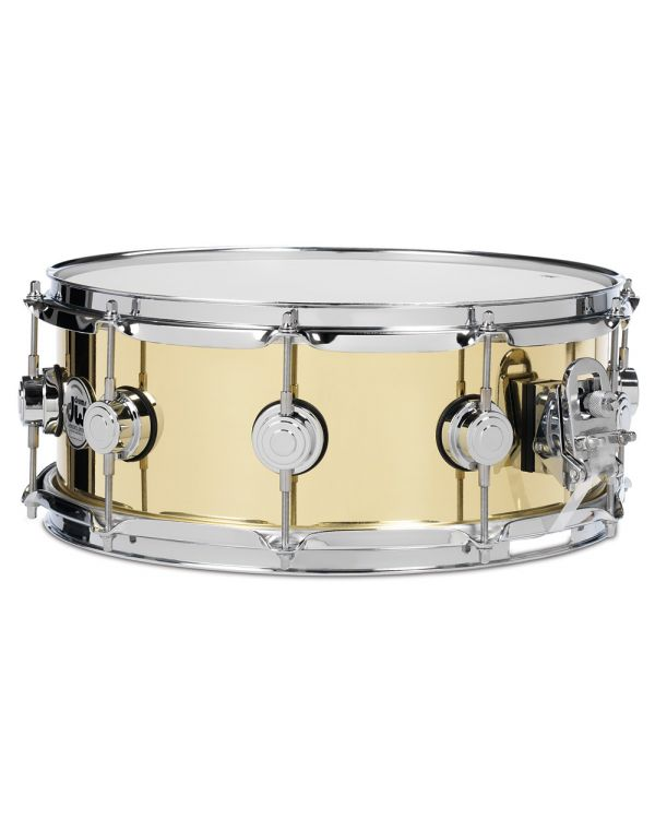 "DW Collectors Series Bell Brass 14"" x 6.5"" Snare Drum"