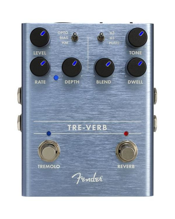 Fender Tre-Verb Digital Reverb and Tremolo Pedal