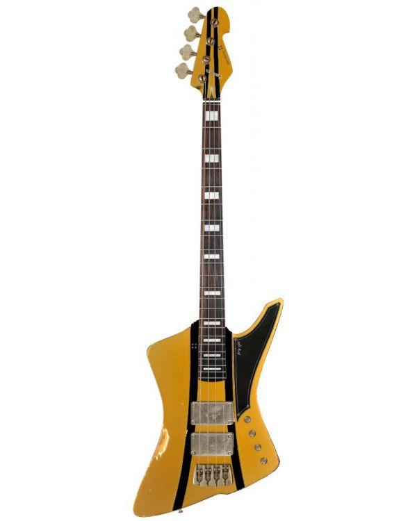 Sandberg Forty Eight 4-String Bass Gold HC Aged MHS RWFB