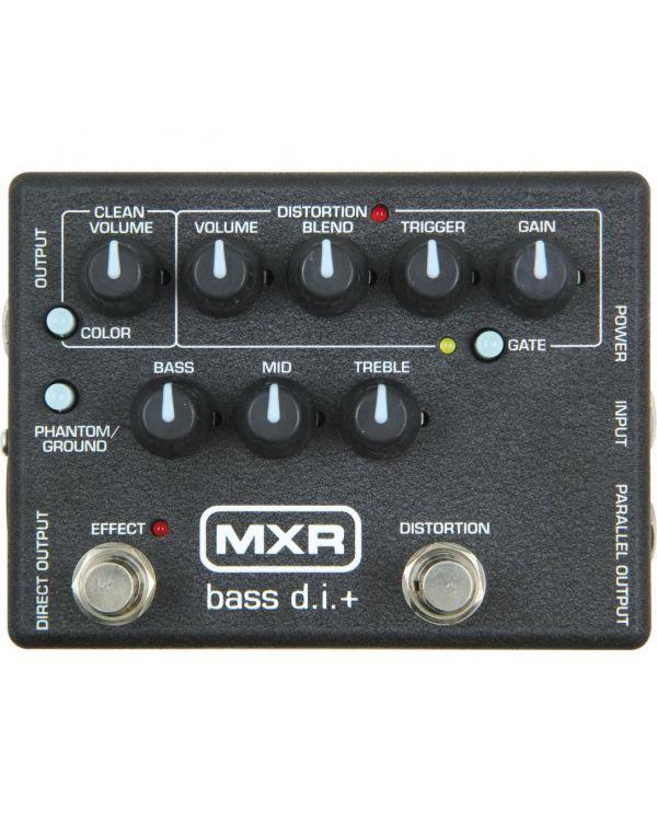 MXR M80 Bass Distortion + Bass Guitar Effects Pedal