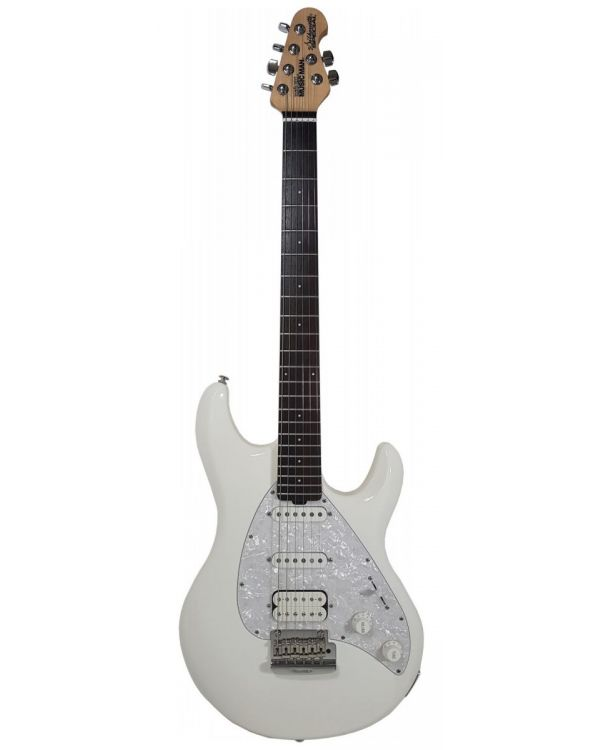 Music Man Silhouette Special HSS White Electric Guitar