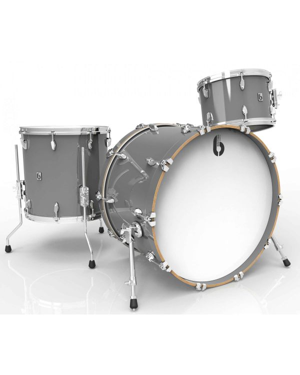"British Drum Co. Legend Series 22"" 3-Piece Shell Pack in Winchester Grey"
