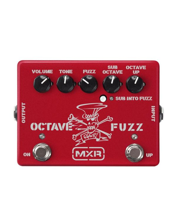 MXR Slash Octave Fuzz Pedal Limited Edition Ruby Red