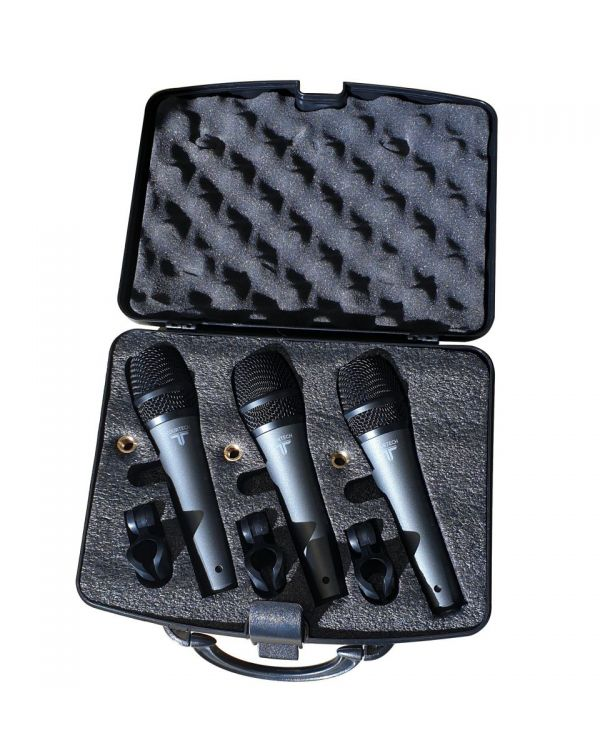 TOURTECH VM50 Dynamic Microphones, 3-Pack