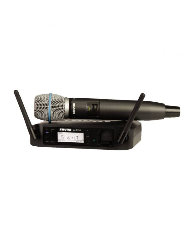Shure GLXD24UK / BETA87A Digital Handheld Wireless Microphone System